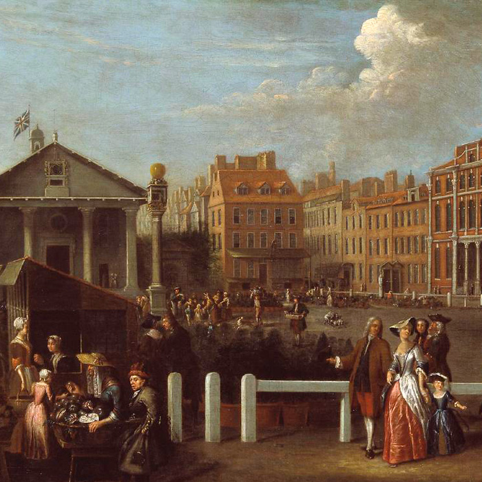 Historical Picture of Covent Garden